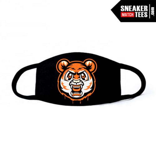 Face Mask Black Shattered Backboard 1s Tiger Gang