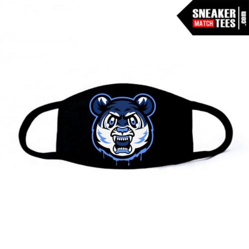 Face Mask Black UNC 1s Tiger Gang