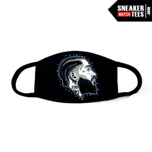 Face Mask Black UNC 3s Prolific