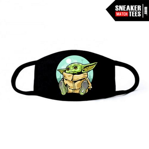 Face Mask Black Yeezy 350 Yeezreel Baby Yoda