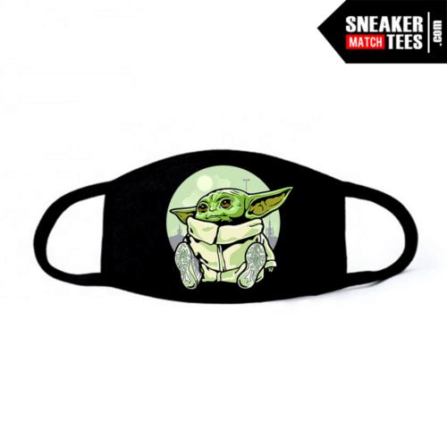 Face Mask Black Yeezy 380 Alien Baby Yoda