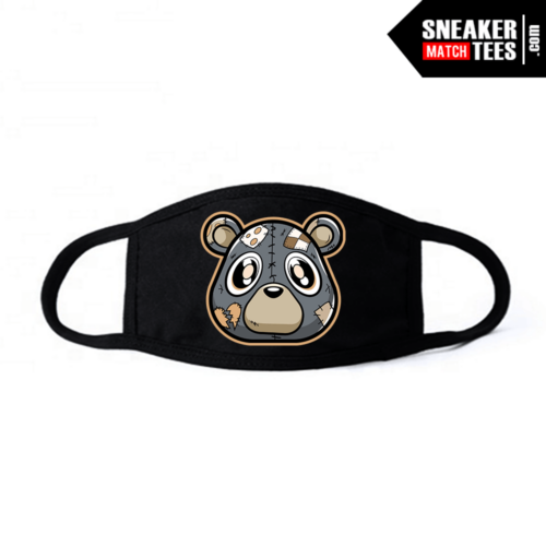 Face Mask Black Yeezy 380 Mist Heartless Bear
