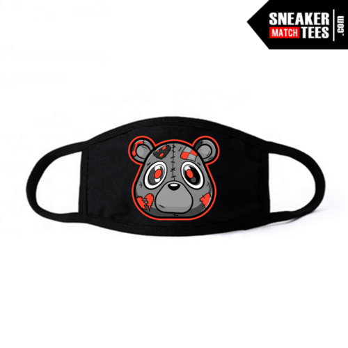 Face Mask Black Yeezy Beluga Heartless Bear