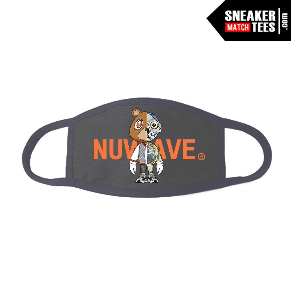 Face Mask Grey Yeezy 700 Waverunner Nuwave Anatomy Bear