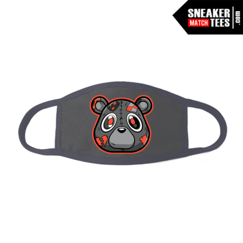 Face Mask Grey Yeezy Beluga Heartless Bear