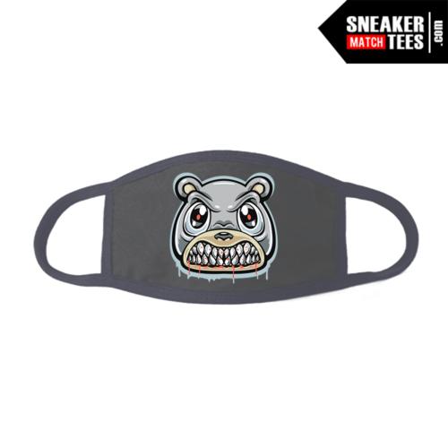Face Mask Grey Yeezy Inertia 700 Angry Bear