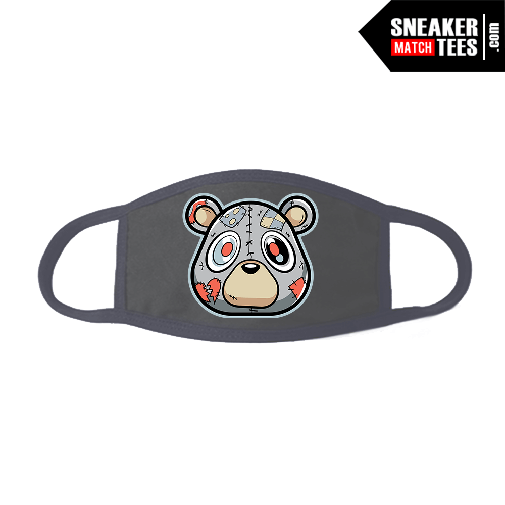 Face Mask Grey Yeezy Inertia 700 Heartless Bear