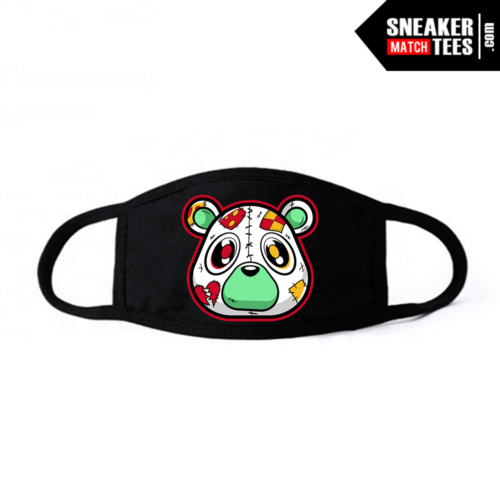 Face mask Black hare 6s Heartless Bear