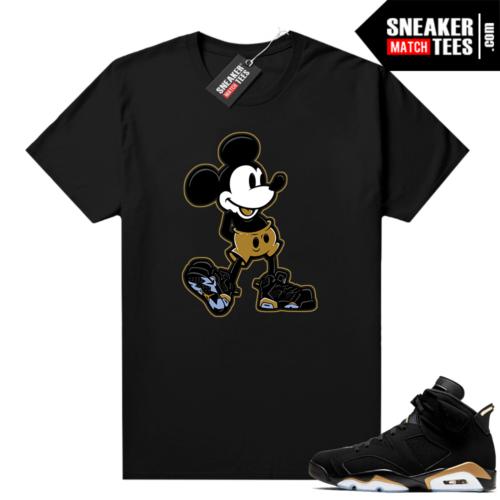 Jordan t-shirt DMP 6s Mickey Sneakerhead