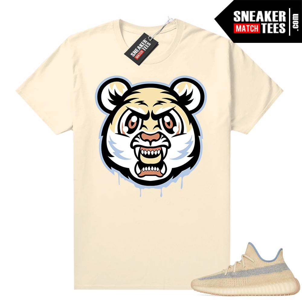 Linen 350 Yeezy boost t-shirt Tiger Gang