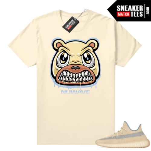 Linen 350 Yeezy shirt Angry Bear