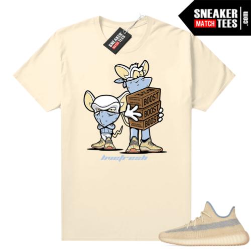 Linen Yeezy 350 V2 shirt Sneaker Heist