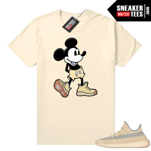 Linen Yeezy Boost 350 V2 sneaker tees Sneakerhead Mickey
