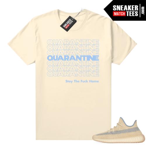 Linen Yeezy Boost 350 shirt Quarantine