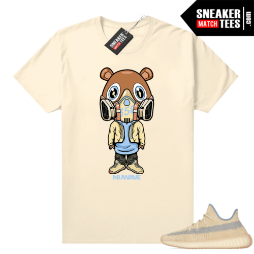 Linen Yeezy boost shirt 350 Gas Mask Bear