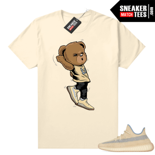 Linen Yeezy shirt Shootin Bear