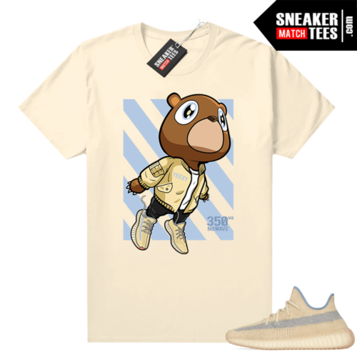 Match Yeezy Linen Shirts 350 Boost Fly Bear