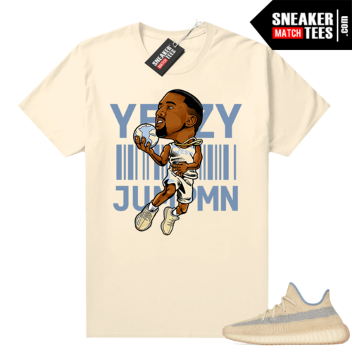 Match Yeezy shirts Linen 350 Yeezy Over Jumpman