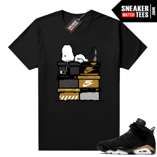 Shirt to match DMP 6s Sneakerhead Snoopy