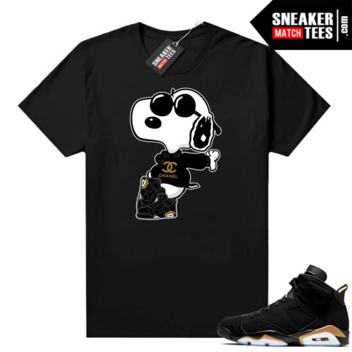 Sneaker tees DMP 6s Fly Snoopy