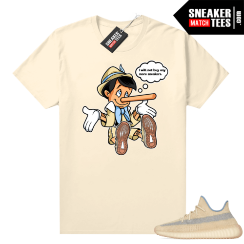 Sneaker tees Linen Yeezy 350 shirt Will Not Buy