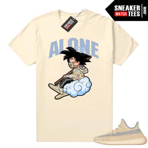 Yeezy 350 Linen sneaker tees Alone