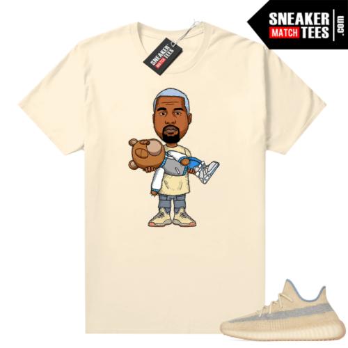 Yeezy Boost 350 Linen shirt kaws Ye