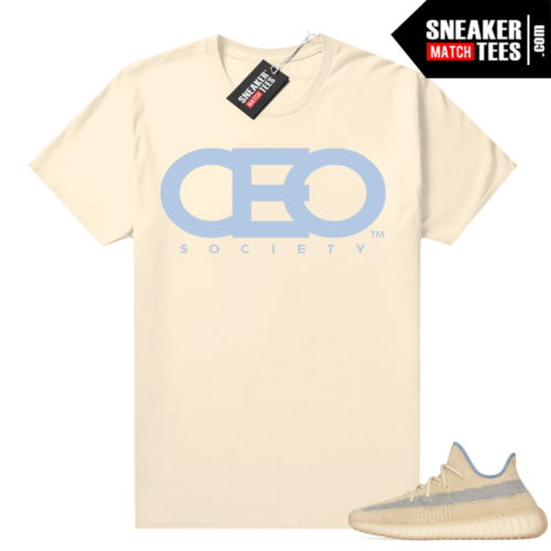 Yeezy Boost 350 V2 Linen shirt CEO Society