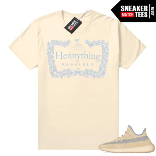 Yeezy Boost 350 V2 Linen shirt Hennything