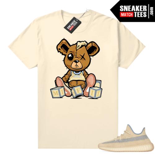Yeezy Boost 350 V2 Linen shirt Misfit Teddy