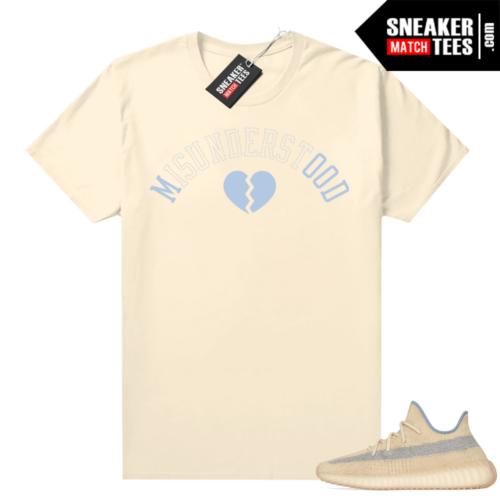 Yeezy Boost 350 V2 Linen shirt Misunderstood