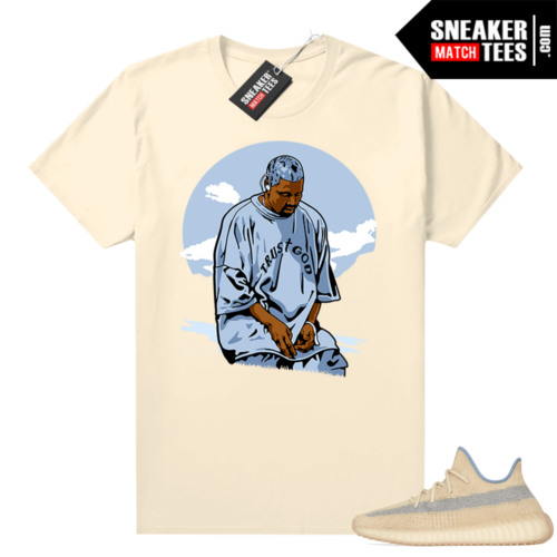Yeezy Boost 350 V2 Linen shirt Ye Trust God