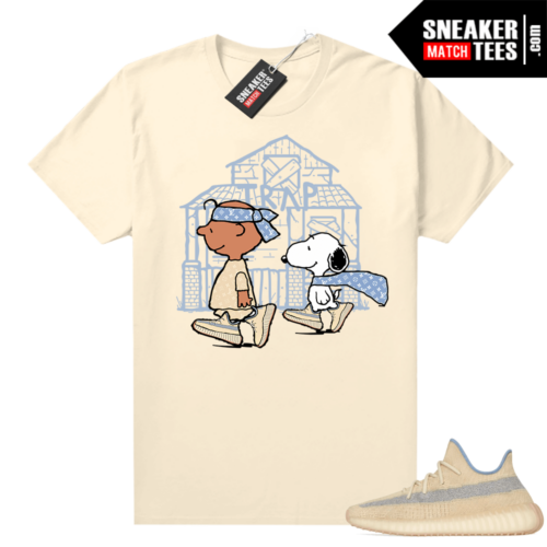 Yeezy Linen Graphic t-shirt Snoopy Trap House