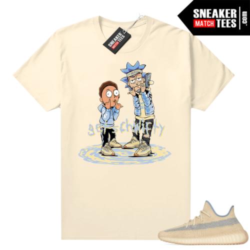 Yeezy shirt match Linen 350 Get Schwifty