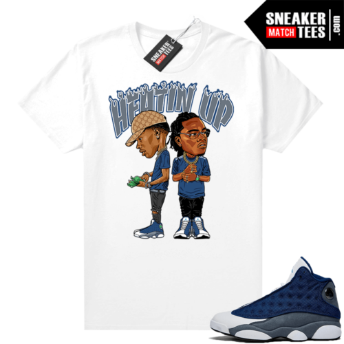 Air Jordan 13 Flint Shirts Heatin Up