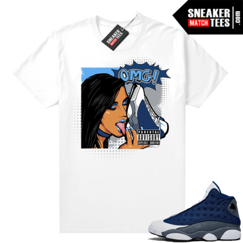 Air Jordan 13 Flint Shirts OMG Sneakers