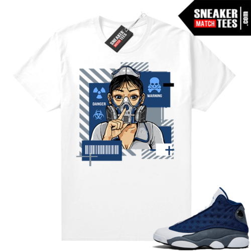 Air Jordan 13 Flint Shirts Quarantine Nurse