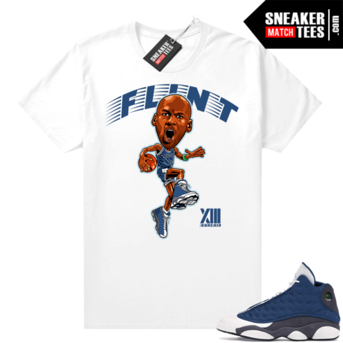 Air Jordan 13 retro Flint shirt MJ x Flint