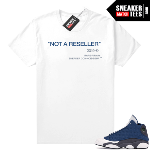 Air Jordan 13 retro Flint shirt Not A Reseller