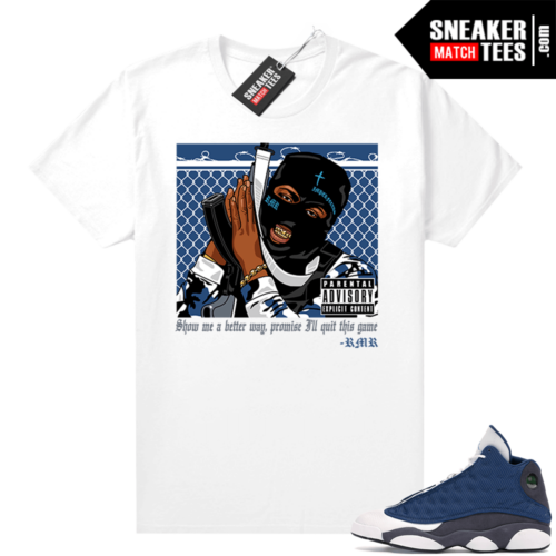 Air Jordan 13 retro Flint shirt RMR