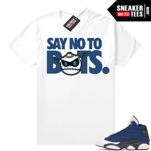 Air Jordan 13 retro Flint shirt Say No To Bots