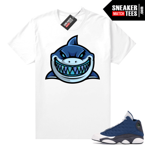 Air Jordan 13 retro Flint shirt Shark Gang