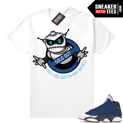 Air Jordan 13 retro Flint shirt Sneaker BOT