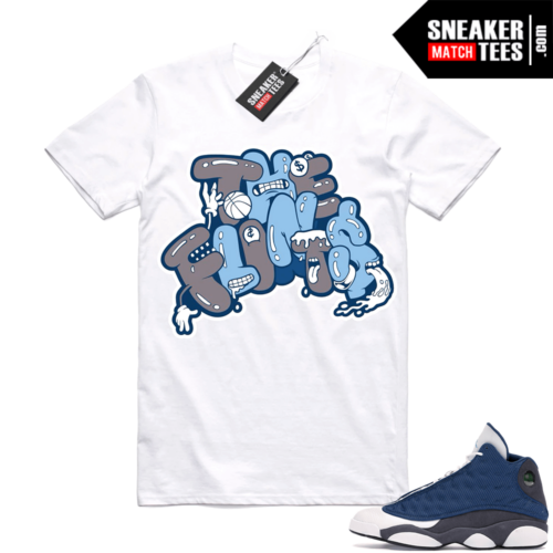 Air Jordan 13 retro Flint shirt The Flints