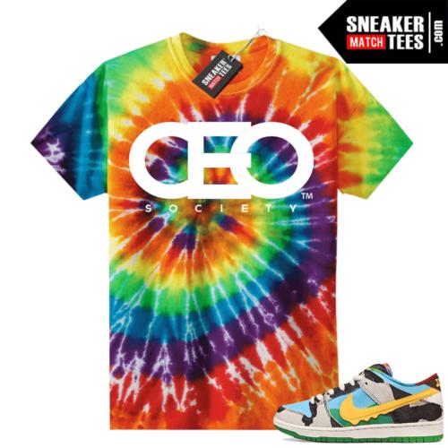 Chunky Dunky Nike Dunks Tie-Dye Shirts CEO Logo