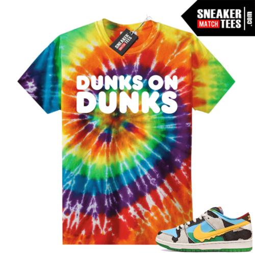 Chunky Dunky Nike Dunks Tie-Dye Shirts DUNKS on DUNKS