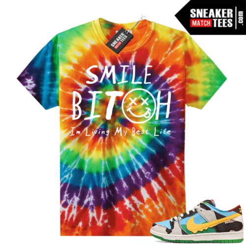 Chunky Dunky Nike Dunks Tie-Dye Shirts Living My Best Life
