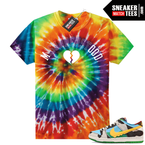 Chunky Dunky Nike Dunks Tie-Dye Shirts Misunderstood
