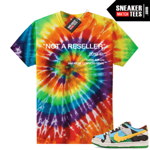 Chunky Dunky Nike Dunks Tie-Dye Shirts Not A Reseller