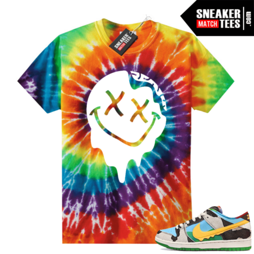Chunky Dunky Nike Dunks Tie-Dye Shirts Slime Smiley